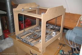 Eerste printer in aanbouw